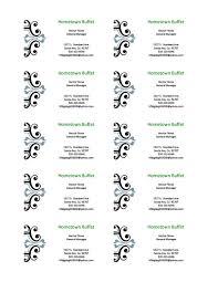 free printable business card templates microsoft word printable