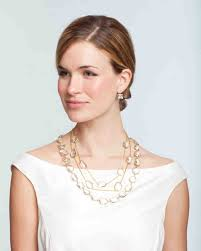bridal jewelry for every wedding dress style martha stewart weddings