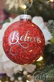 diy glitter ornaments glitter ornaments and