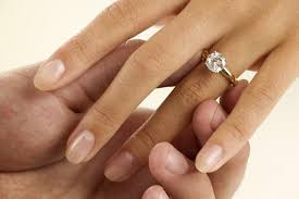 wedding ring how to wear a wedding ring set the right way