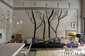 Tree Wall Decals For Living Room Winter Tree Wall Decals Living Room Wall Decal Custom Wall