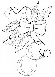bow holly ornaments sketch drawings pinterest sketches