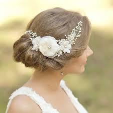 bridal flowers for hair wedding headpiece bridal hair accessories 2247495 weddbook