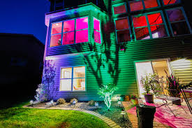 multi color led landscape lighting led landscape lighting color changing uplight and tier fixtures