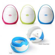 Lovable portable travel potty