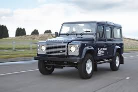 2013 Land Rover Rover Defender Electric Concept Pictures News