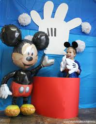 Mickey Mouse Photo Booth Mickey Mouse Party Ideas For Kids Moms U0026 Munchkins