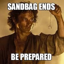 Be Prepared Meme - meme creator frodo in mordor meme generator at memecreator org