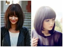 hairstyles with bangs medium length hairstyle ideas for freshman year hair world magazine