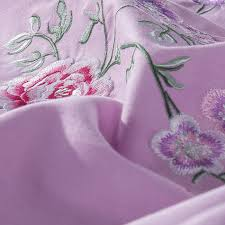 online shop rose embroidered bedding sets queen king size bedlinen