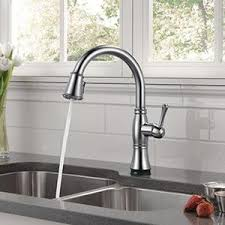 Delta Cassidy Kitchen Faucet Delta Faucet 9197t Cz Dst Cassidy Single Handle Pull Kitchen