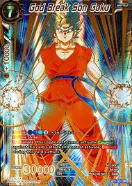god break son goku special rare dragon ball super singles