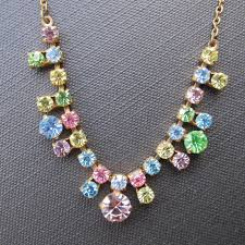 coloured crystal necklace images What is diamante crystal jpg