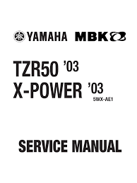 yamaha tzr 50 03 owners u0027s manual motor oil engines