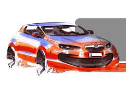 car marker drawing car body design