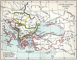 Map Eastern Europe South Eastern Europe Map 900 A D Full Size