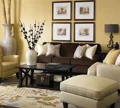 living room wall colors for living room with brown furniture what