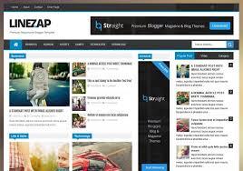 linezap responsive blogger template 2014 free blogger templates