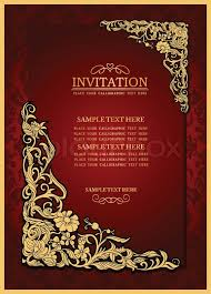 invitation card abstract background with antique luxury vintage frame