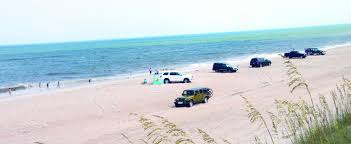 Map Of Outer Banks Nc Driving On The Beach The Outer Banks North Carolina