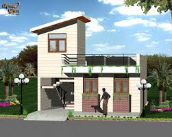 Single Floor House by Awesome Modern Indian Home Design Front View Pictures Trends
