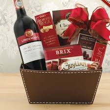 wine and chocolate gift basket cabernet and chocolate combo basket