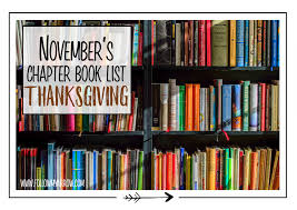 our top 5 favorite thanksgiving chapter books follow my arrow