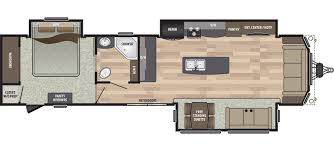 Fifth Wheel Floor Plans Front Living Room Residence