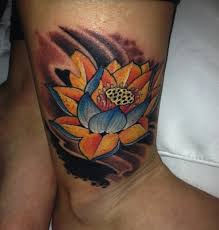 tattoo pictures color lotus flower tattoo designs