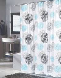 84 Inch Fabric Shower Curtain Regal Home Collections Paisley Damask Printed Fabric Shower