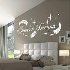 deko shop 24 de wandtattoo sweet dreams federn deko shop 24 de