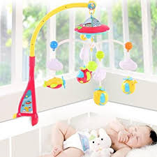 baby crib lights toys amazon com baby musical mobile crib dreamland bed toy projection