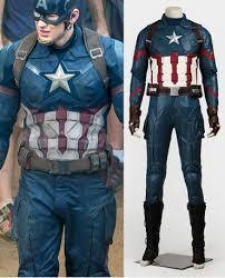 Captain America Halloween Costumes Captain America 3 Civil War Cosplay Steve Rogers Cosplay Costumes