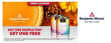 free sample pint of benjamin moore paint at true value bargain