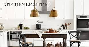 Kitchen Light Fixtures by Kitchen Lighting Williams Sonoma
