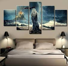 wall decor movie decorated room ideas cool canvas painting 5