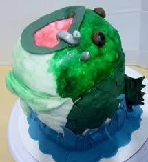 bass fish cake 3d bass fish cake cakecentral