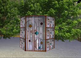 privacy dressing screens abstract stained glass privacy dressing