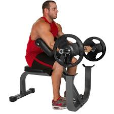 Body Solid Preacher Curl Bench Xmark Fitness Xm 7612 Seated Preacher Curl Bench