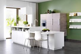 free standing kitchen island with breakfast bar white glaze woodej standing island with light brown wooden butcher