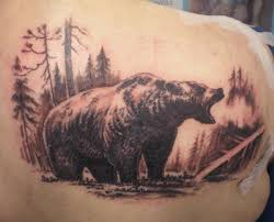 22 bear tattoos with physical and spiritual meanings tattoos win