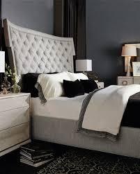 Tufted King Bed Frame Bernhardt Damonica Tufted King Bed Neiman