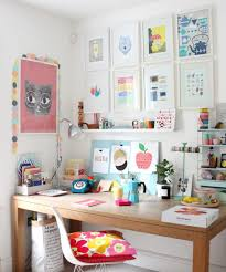 Creative Workspaces Littlebigbell My Colourful Workplace Wall Gallery And A