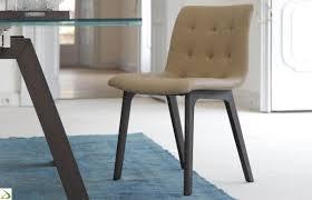 sedie pelle sedia design imbottita kuga di bontempi arredo design