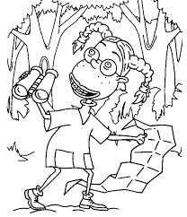 solutions thornberrys monkey coloring pages download