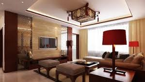 Chinese House Interior Conventional And Modern Living Room Design - Chinese living room design
