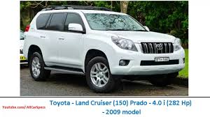 land cruiser prado car toyota land cruiser 150 prado 4 0 i 282 hp 2009 model