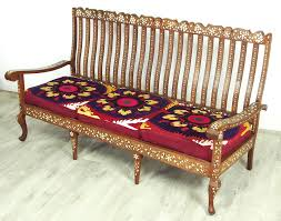 sofa garnitur antik 3 teilige indian anglo garnitur sofagarnitur sessel