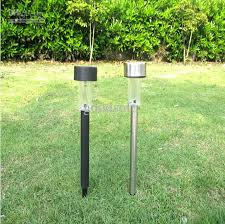 discount outdoor solar stainless steel led landscape garden path