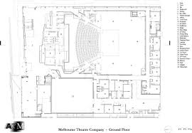 19th Century Floor Plans by Melbourne Recital Centre And Melbourne Theatre Company Openbuildings